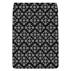Floral Dot Series   Black And Grey Removable Flap Cover (s)