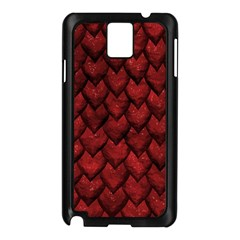 Red Dragon Samsung Galaxy Note 3 N9005 Case (black) by LalaChandra