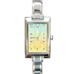 Just Perfect! Rectangle Italian Charm Watch