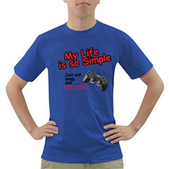 My Life Is Simple Dark T-shirt by Ergi2000