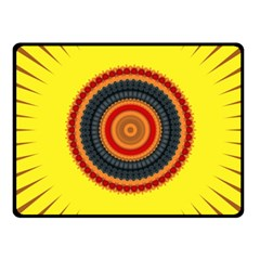 Art Decoration Wallpaper Bright Fleece Blanket (small)