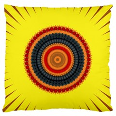 Art Decoration Wallpaper Bright Large Flano Cushion Case (one Side) by Pakrebo