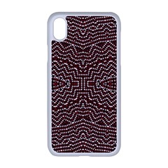 Design Pattern Abstract Desktop Apple Iphone Xr Seamless Case (white)