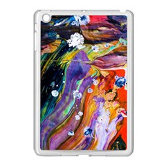 Abstract Modern Detail Color Apple Ipad Mini Case (white)