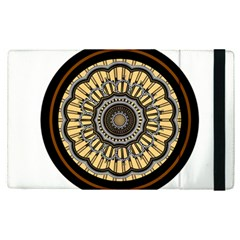 Mandala Pattern Round Ethnic Apple Ipad Pro 9 7   Flip Case