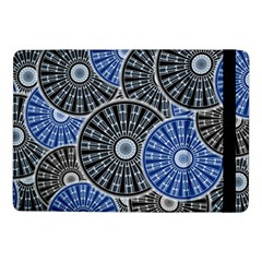 Cog Gear Wheel Engineering Round Samsung Galaxy Tab Pro 10 1  Flip Case by Pakrebo