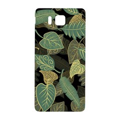 Autumn Fallen Leaves Dried Leaves Samsung Galaxy Alpha Hardshell Back Case by Pakrebo