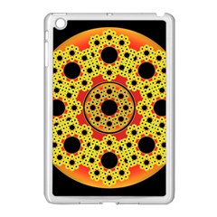 Fractal Art Design Pattern Apple Ipad Mini Case (white) by Pakrebo