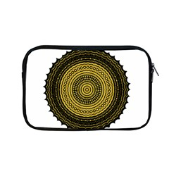Design Circular Shape Round Apple Macbook Pro 13  Zipper Case
