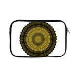 Design Circular Shape Round Apple MacBook Pro 13  Zipper Case Front