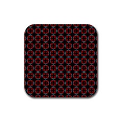 Pattern Design Artistic Decor Rubber Coaster (square)