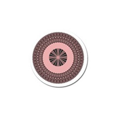 Design Circular Aztec Symbol Golf Ball Marker (10 Pack) by Pakrebo