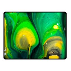 Art Abstract Artistically Painting Fleece Blanket (small) by Pakrebo