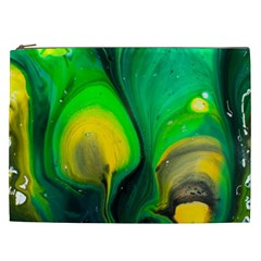 Art Abstract Artistically Painting Cosmetic Bag (xxl)