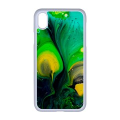 Art Abstract Artistically Painting Apple Iphone Xr Seamless Case (white)