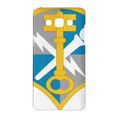 U S  Army Intelligence And Security Command Shoulder Sleeve Insignia Samsung Galaxy A5 Hardshell Case  by abbeyz71