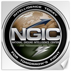 Seal Of National Ground Intelligence Center Canvas 12  X 12  by abbeyz71