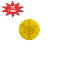 U S  Army Public Affairs Branch Insignia 1  Mini Magnets (100 Pack)  by abbeyz71