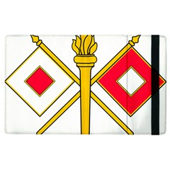 U S  Army Signal Corps Branch Insignia Apple Ipad 3/4 Flip Case by abbeyz71
