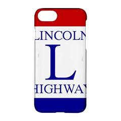 Lincoln Highway Marker Apple Iphone 7 Hardshell Case by abbeyz71