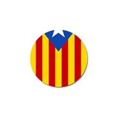 Blue Estelada Catalan Independence Flag Golf Ball Marker (10 Pack) by abbeyz71