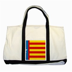 Valencian Estrelada Two Tone Tote Bag by abbeyz71