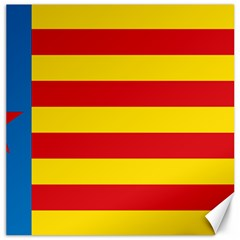 Valencian Nationalist Senyera Canvas 16  X 16  by abbeyz71