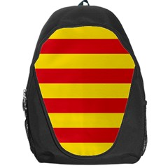 Valencian Nationalist Senyera Backpack Bag by abbeyz71