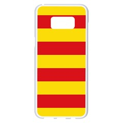 Valencian Nationalist Senyera Samsung Galaxy S8 Plus White Seamless Case by abbeyz71