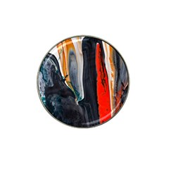 Art Modern Painting Background Hat Clip Ball Marker