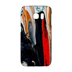 Art Modern Painting Background Samsung Galaxy S6 Edge Hardshell Case