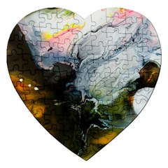 Art Abstract Painting Jigsaw Puzzle (heart)