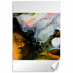 Art Abstract Painting Canvas 20  X 30