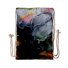 Art Abstract Painting Drawstring Bag (small)
