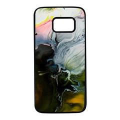 Art Abstract Painting Samsung Galaxy S7 Black Seamless Case by Pakrebo