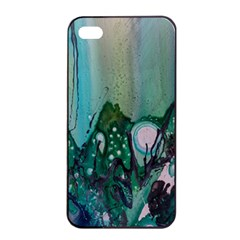 Abstract Art Modern Surreal Apple Iphone 4/4s Seamless Case (black) by Pakrebo