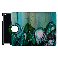 Abstract Art Modern Surreal Apple Ipad 2 Flip 360 Case