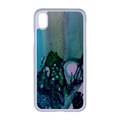 Abstract Art Modern Surreal Apple Iphone Xr Seamless Case (white)