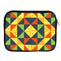 Background Geometric Color Apple Ipad 2/3/4 Zipper Cases