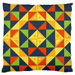 Background Geometric Color Standard Flano Cushion Case (one Side)