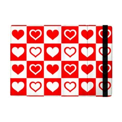 Background Card Checker Chequered Ipad Mini 2 Flip Cases