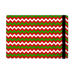 Christmas Paper Scrapbooking Pattern Apple Ipad Mini Flip Case by Pakrebo