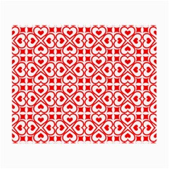Background Card Checker Chequered Small Glasses Cloth (2 Side) by Pakrebo