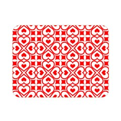 Background Card Checker Chequered Double Sided Flano Blanket (mini)