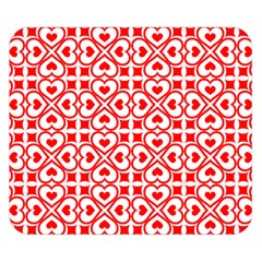Background Card Checker Chequered Double Sided Flano Blanket (small)