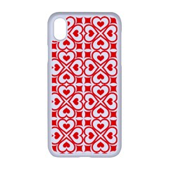 Background Card Checker Chequered Apple Iphone Xr Seamless Case (white)