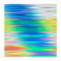 Wave Rainbow Bright Texture Medium Glasses Cloth