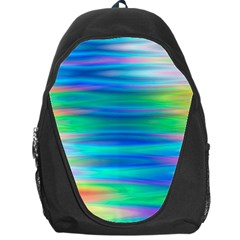 Wave Rainbow Bright Texture Backpack Bag