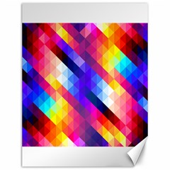 Abstract Background Colorful Pattern Canvas 12  X 16