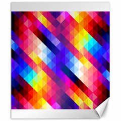 Abstract Background Colorful Pattern Canvas 20  X 24